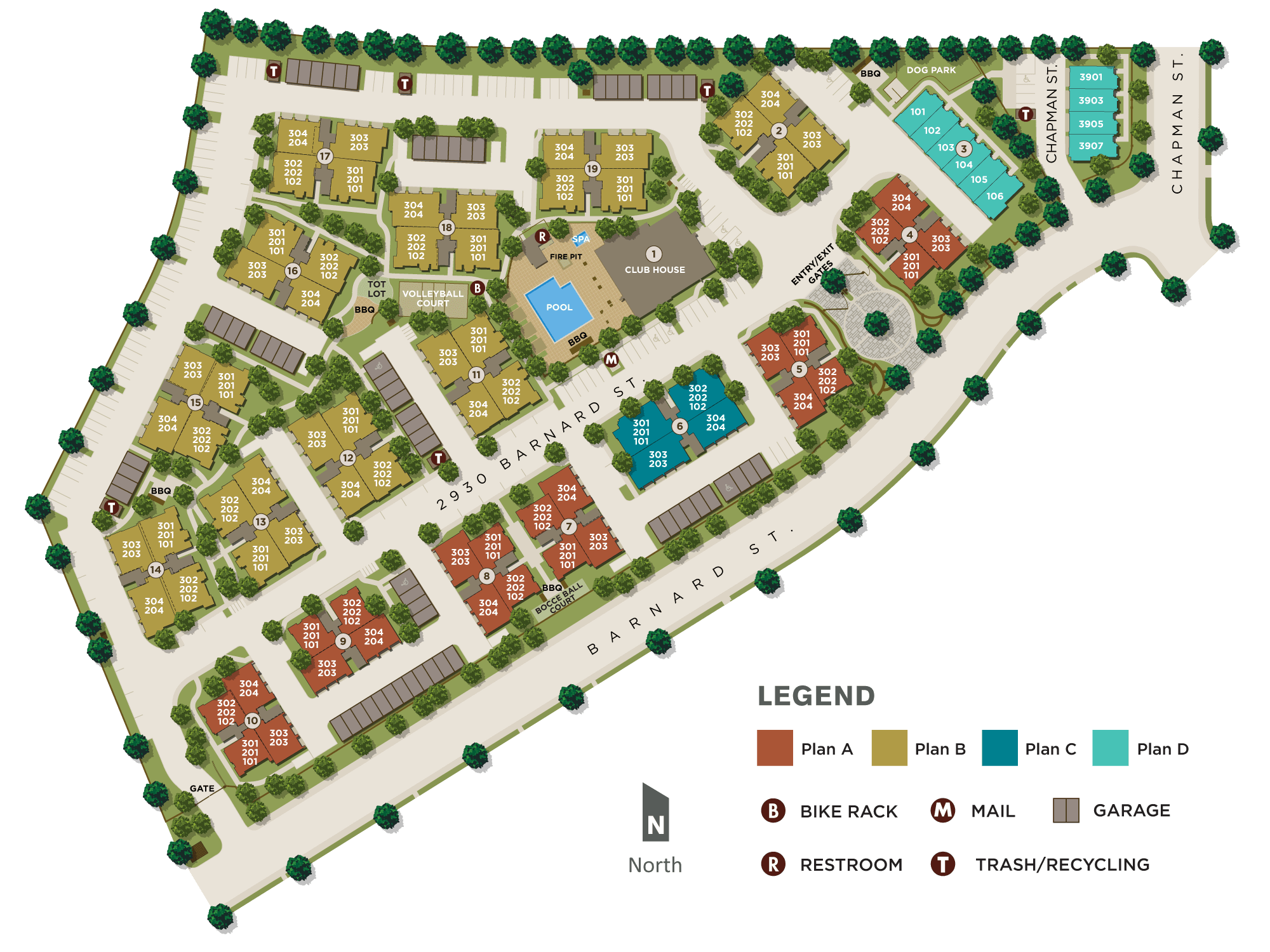 Site Plan for IOS
