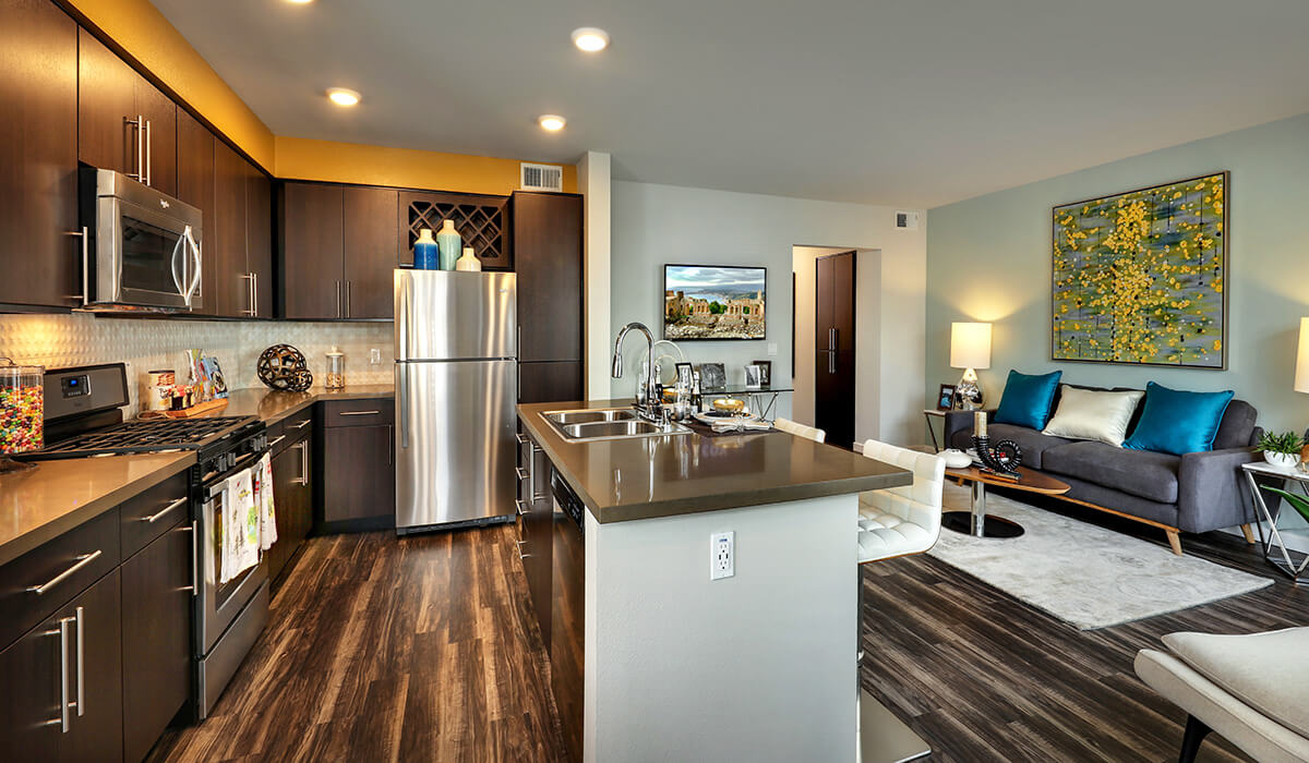 Plan B: Kitchen/Living